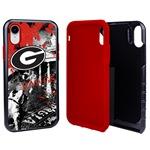 Guard Dog Georgia Bulldogs PD Spirit Hybrid Phone Case for iPhone XR