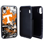 Guard Dog Tennessee Volunteers PD Spirit Hybrid Phone Case for iPhone XR