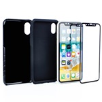 Guard Dog® Hybrid Case for iPhone X / Xs - Black with Guard Glass Screen Protector