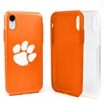 Guard Dog Clemson Tigers Clear Hybrid Phone Case for iPhone XR