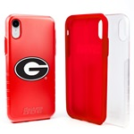 Guard Dog Georgia Bulldogs Clear Hybrid Phone Case for iPhone XR