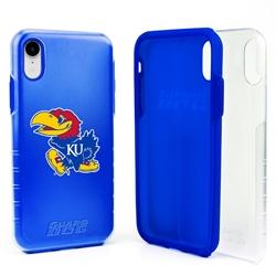 Guard Dog Kansas Jayhawks Clear Hybrid Phone Case for iPhone XR