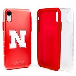 Guard Dog Nebraska Cornhuskers Clear Hybrid Phone Case for iPhone XR