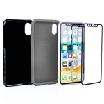 Guard Dog Hybrid Case for iPhone XS Max - Black with Guard Glass Screen Protector