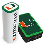 Miami Hurricanes Wall Charger / 2200JX Charger Pack