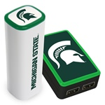 Michigan State Spartans Wall Charger / 2200JX Charger Pack