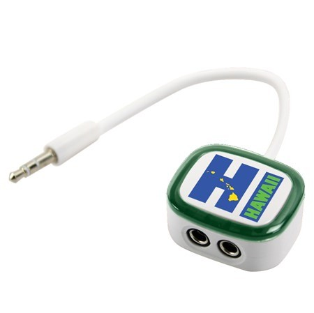 Hawaii HI 2-Way Earbud Splitter