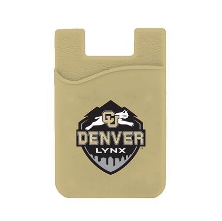 CU Denver Lynx Silicone Card Keeper Phone Wallet