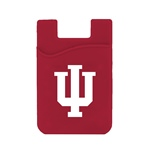 Indiana Hoosiers Silicone Card Keeper Phone Wallet