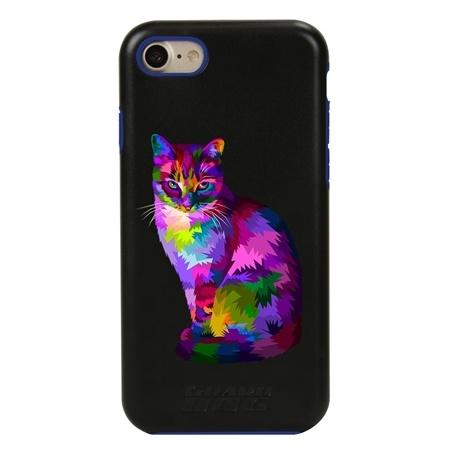 Guard Dog Motley Cat Hybrid Phone Case for iPhone 7/8/SE