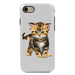 Guard Dog Here Kitty Kitty Hybrid Phone Case for iPhone 7/8/SE