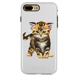 Guard Dog Here Kitty Kitty Hybrid Phone Case for iPhone 7 Plus / 8 Plus
