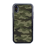 Guard Dog Jungle Camo Hybrid Case for iPhone XS Max , Black with Black Silicone