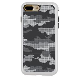 Guard Dog Alpine Camo Hybrid Case for iPhone 7 Plus / 8 Plus , White with Black Silicone