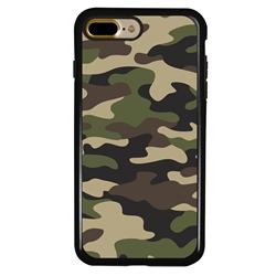 Guard Dog Commando Camo Hybrid Case for iPhone 7 Plus / 8 Plus , Black with Black Silicone