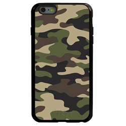 Guard Dog Commando Camo Hybrid Case for iPhone 6 Plus / 6S Plus , Black with Black Silicone