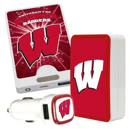QuikVolt Wisconsin Badgers Quick Charge Combo Pack