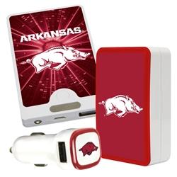 QuikVolt Arkansas Razorbacks Quick Charge Combo Pack