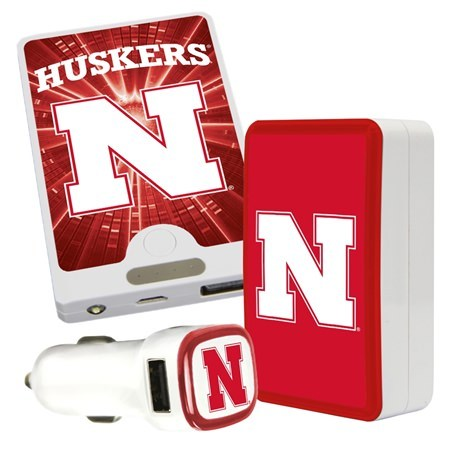 QuikVolt Nebraska Cornhuskers Quick Charge Combo Pack
