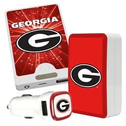 QuikVolt Georgia Bulldogs Quick Charge Combo Pack