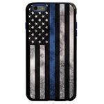 Guard Dog Legend Thin Blue Line Cases for iPhone 6 Plus / 6s Plus , Black / Blue