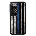Guard Dog Legend Thin Blue Line Cases for iPhone 7 / 8 , Black / Blue