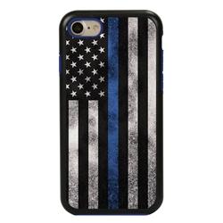 Guard Dog Legend Thin Blue Line Cases for iPhone 7/8/SE , Black / Blue