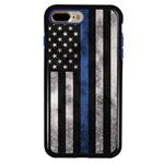 Guard Dog Legend Thin Blue Line Cases for iPhone 7 Plus / 8 Plus , Black / Blue