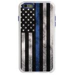 Guard Dog Legend Thin Blue Line Cases for iPhone 6 Plus / 6s Plus , white / Blue