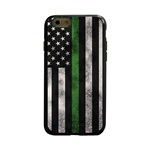Guard Dog Legend Thin Green Line Cases for iPhone 6 / 6s , Black / Green