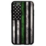 Guard Dog Legend Thin Green Line Cases for iPhone 6 Plus / 6s Plus , Black / Green