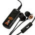 AudioSpice Oklahoma State Cowboys Bluetooth and Scorch Earbud with Mic Combo Plus BudBag Storage Case
