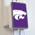 QuikVolt Kansas State Wildcats WP-200X Classic Dual-Port USB Wall Charger