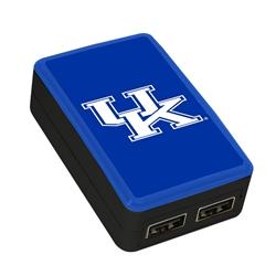 QuikVolt Kentucky Wildcats WP-200X Classic Dual-Port USB Wall Charger
