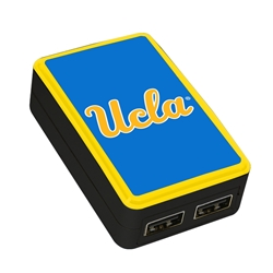 QuikVolt UCLA Bruins WP-200X Classic Dual-Port USB Wall Charger