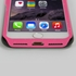 Guard Dog Pink Hybrid Cases for iPhone 7 / 8 with Guard Glass Screen Protector, Pink Glitz and Glam, Black/Pink Silicone