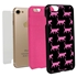 Guard Dog Pink Hybrid Cases for iPhone 7/8/SE , Pink Catitude, Black/Pink Silicone