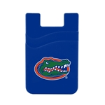Florida Gators Dual Pocket Silicone Card Keeper Phone Wallet
