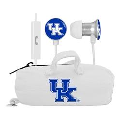 Kentucky Wildcats Scorch Earbuds + Mic with BudBag