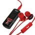 AudioSpice Texas Tech Red Raiders Bluetooth and Scorch Earbud with Mic Combo Plus BudBag Storage Case