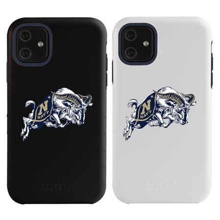 "Guard Dog Navy Midshipmen ""Goat Logo"" Hybrid Case for iPhone 11"