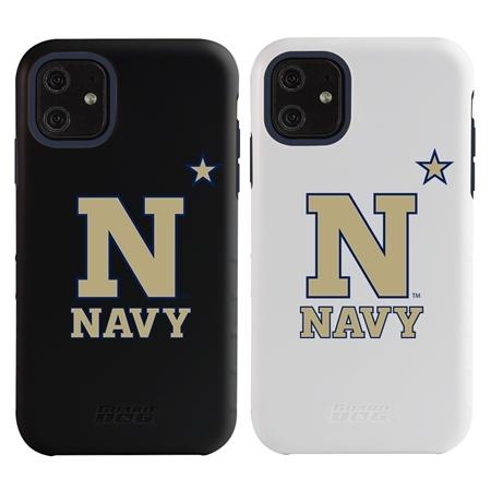 "Guard Dog Navy Midshipmen ""N Logo"" Hybrid Case for iPhone 11"