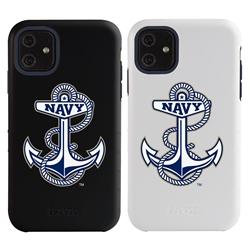 "Guard Dog Navy Midshipmen ""Anchor Logo"" Hybrid Case for iPhone 11"