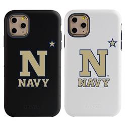 "Guard Dog Navy Midshipmen ""N Logo"" Hybrid Case for iPhone 11 Pro"