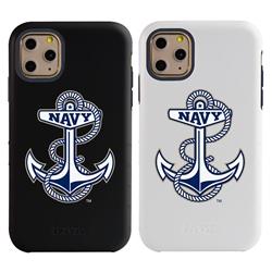 "Guard Dog Navy Midshipmen ""Anchor Logo"" Hybrid Case for iPhone 11 Pro"