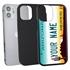 Personalized License Plate Case for iPhone 12 Mini – Hybrid Arizona