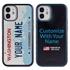 Personalized License Plate Case for iPhone 12 Mini – Hybrid Washington