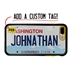 Personalized License Plate Case for iPhone 7 Plus / 8 Plus – Hybrid Washington