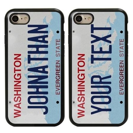 Personalized License Plate Case for iPhone 7 / 8 / SE – Hybrid Washington