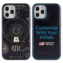 Zodiac Case for iPhone 12 / 12 Pro – Hybrid - Sagittarius – Zodiac - Personalized
